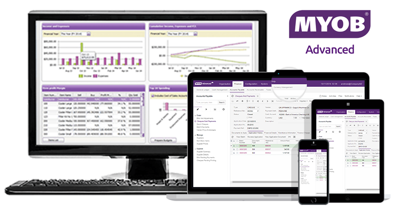 MYOB Advanced Cloud ERP Accounting Software