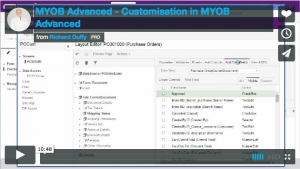 MYOB Advanced Demonstration Video - Customisation in MYOB Advanced