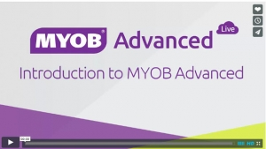 MYOB Advanced Tutorial Video - Introduction to MYOB Advanced