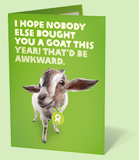 My christmas gift to the sap business one community richard duffy this christmas i am buying a goat not just acting like one bookmarktalkfo Image collections