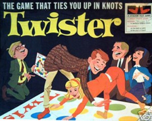 Are you being forced to play Enterprise twister to get the solution you want?