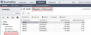 Analyzing the Registry of Discounts webpage