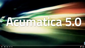 Acumatica Demonstration Video - Acumatica 5.0 Promo