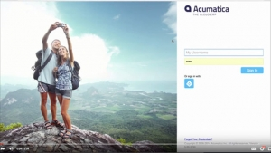 Acumatica Demonstration Video - Improved HTML5 Interface